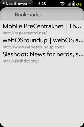 Private Browser Screenshot 2