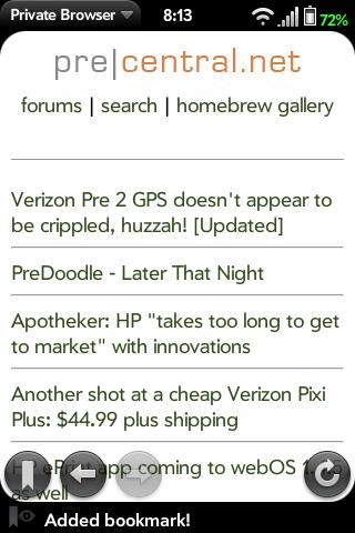 Private Browser Screenshot 0
